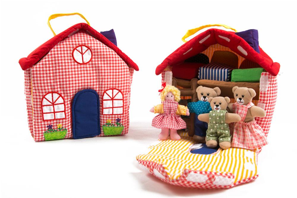 Goldilocks And The 3 Bears Playhouse Plaid Tidings