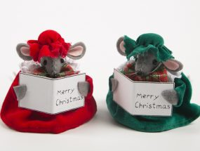 Christmas Choir Mice