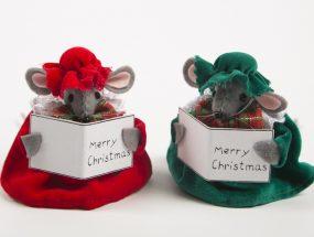 Christmas Choir Mice