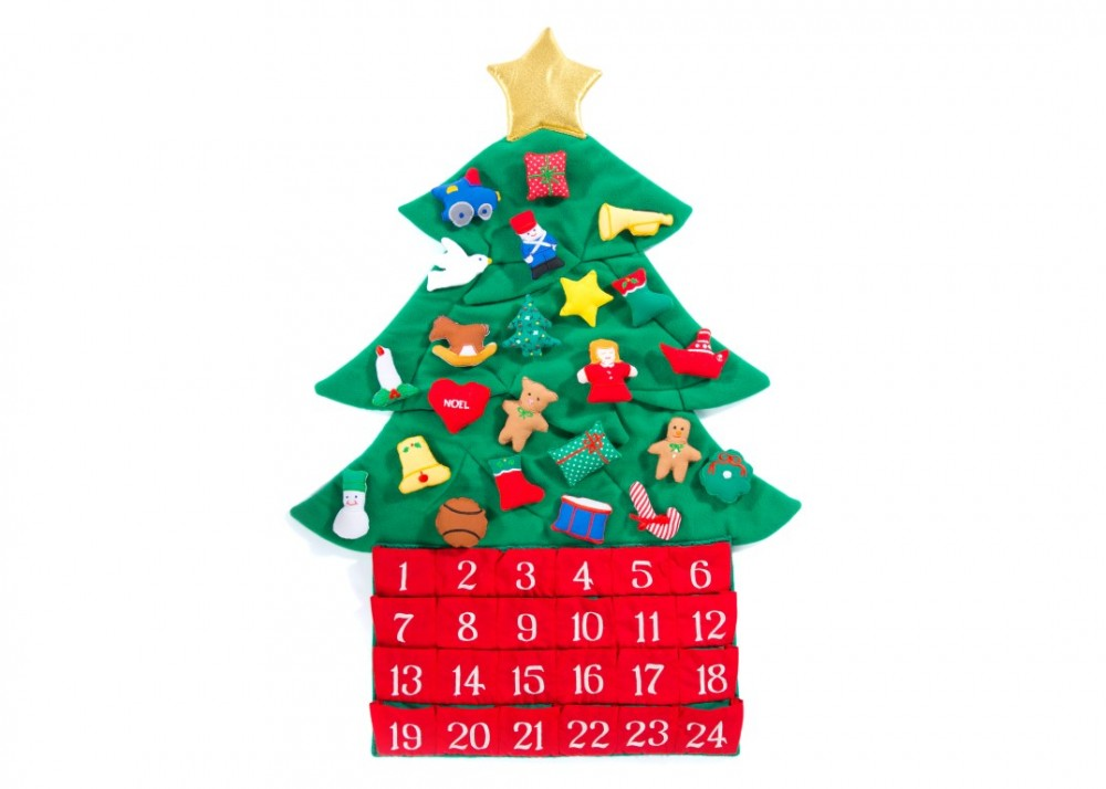 Christmas Tree Advent landscape (Medium)