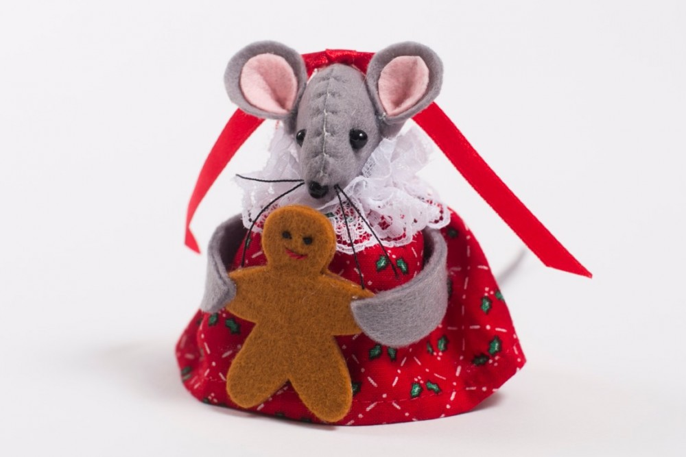 Gingerbread Mouse (Medium)