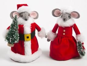 Santa & Mrs Mouse