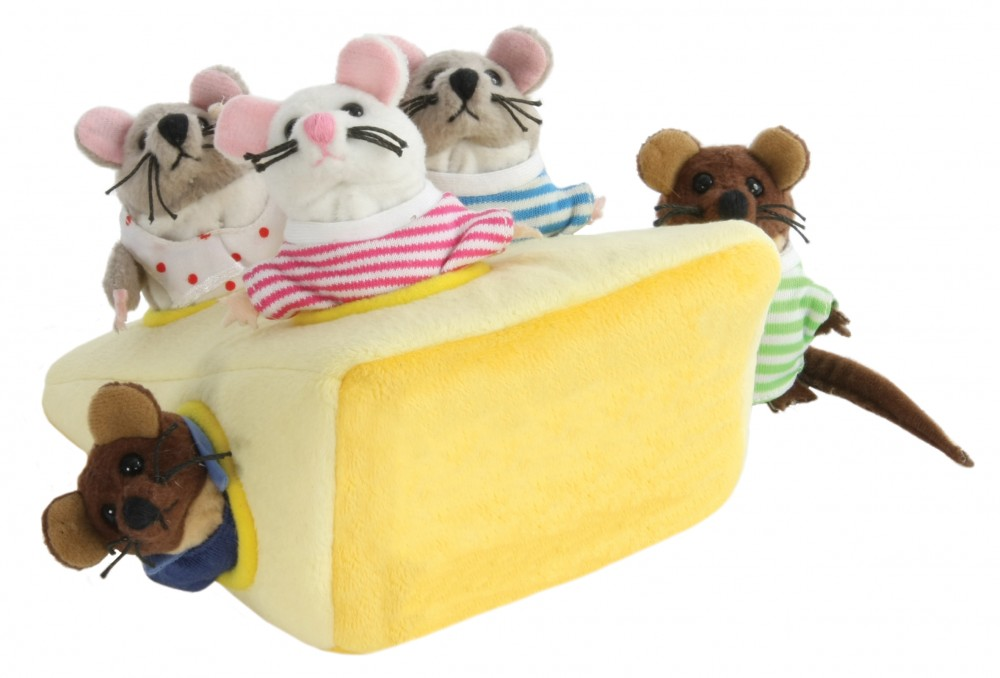 Hide Away - Mice in Cheese - New (2)
