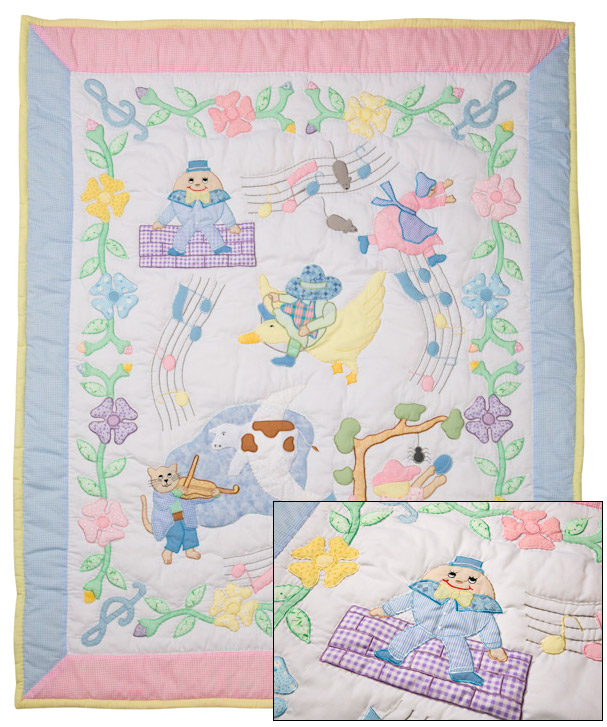 baby-quilt-mother-goose