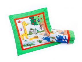 Jungle Baby Quilt web