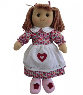 Purple heart Rag Doll