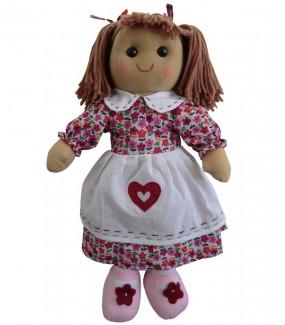 Purple heart Rag Doll